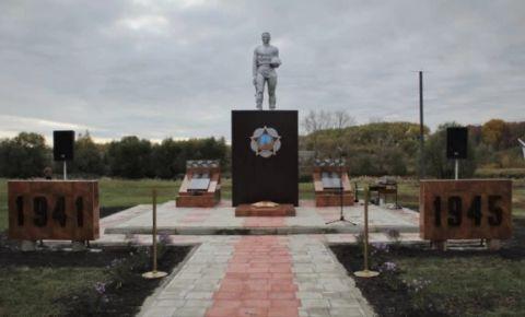 Мемориальный комплекс погибшим воинам открыт в Тамбовской области
