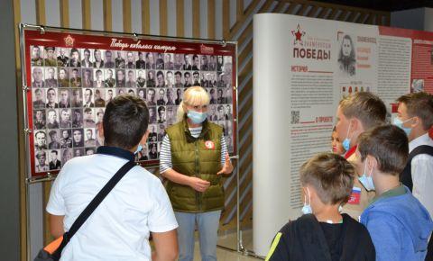 В Челябинске открылась площадка проекта «Знаменосцы Победы»