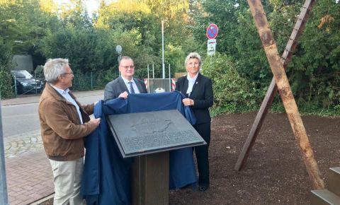 В немецком городе Бад-Фаллингбостель открыли памятник советским военнопленным