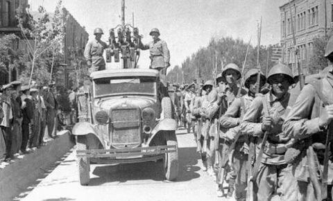 80 лет назад Красная Армия вошла в Тегеран
