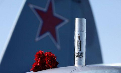 Акция «Перелет памяти. Мемориалы-побратимы» завершилась в Прохоровке