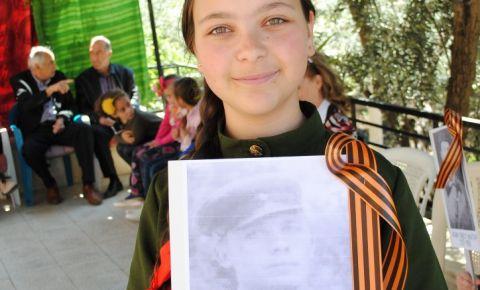 «Бессмертный Полк» Сирии (город  Аль-Сувейда)