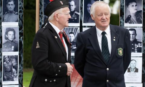 В Ирландии прошла мемориальная церемония посвящённая 75-й годовщине окончания Второй мировой войны
