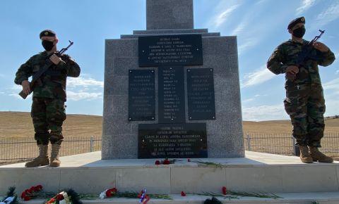 В Унгенском районе восстановлен памятник героям Великой Отечественной войны