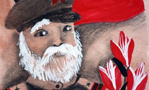 Самые яркие работы конкурса детского рисунка «Моя семья – Бессмертный полк»