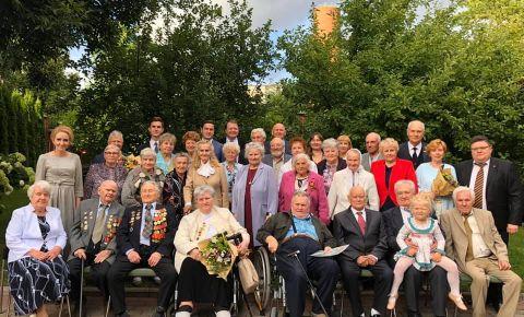 В Даугавпилсе для ветеранов был организован торжественный приём, посвящённый 75-й годовщине Победы