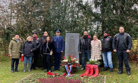 Мемориальная церемония посвященная «Дню неизвестного солдата» прошла на кладбище Хорнли в Базеле