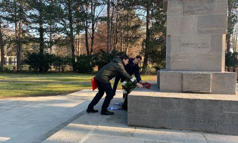 Об открытии после ремонтно-реставрационных работ советского воинского захоронения на восточном кладбище в городе Лейпциг