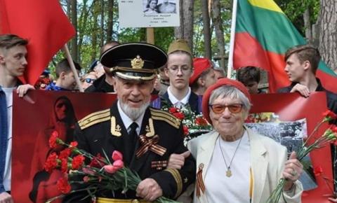 «Бессмертный Полк» Литвы (город  Вильнюс)