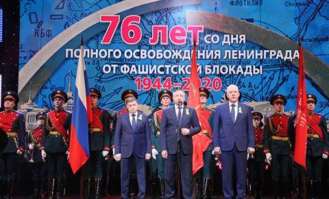 Санкт-Петербург чествует ветеранов и блокадников.