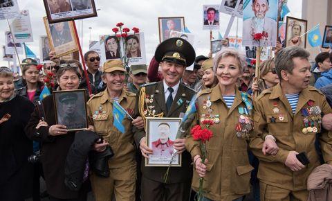 «Бессмертный полк» Казахстана