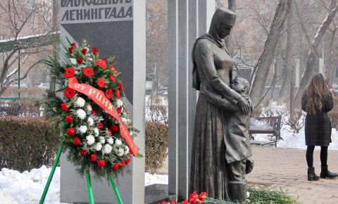В Ереване состоялась церемония возложения цветов к памятнику «Детям блокадного Ленинграда»