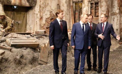 Президент России посетил Музей Победы на Поклонной горе и принял участие в запуске онлайн-проекта «Подвиг народа: непокорённый Ленинград»