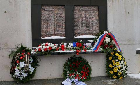 В Латгалии вспоминают трагедию деревни Аудрини, жители которой были уничтожены пособниками гитлеровских захватчиков