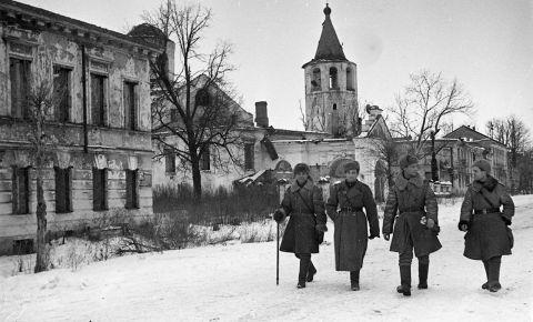 Освобождение городов РСФСР