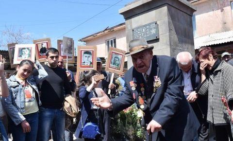 «Бессмертный Полк « Грузии (город Ахалкалаки)