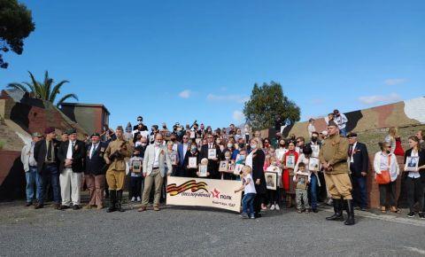 В Кейптауне, на территории мемориальной военной базы «Форт Виньярд» прошел «Бессмертный полк»