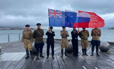 В Новой Зеландии прошла серия мероприятий, организованных по случаю 76-летия Победы в Великой Отечественной войны