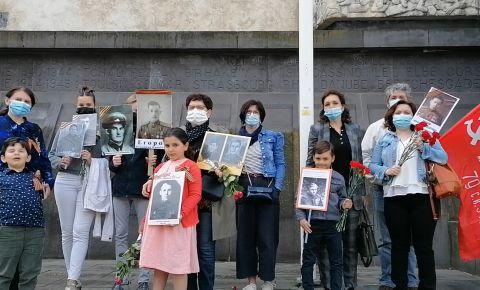 Во французском городе Клермон-Ферран почтили память героев Великой Отечественной войны
