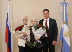 В Посольстве России в Аргентине состоялась торжественная церемония награждения ветеранов
