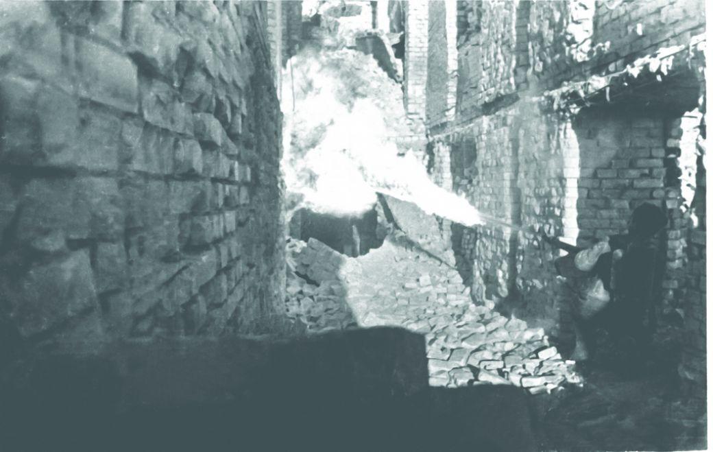 Огнеметчик в Сталинграде