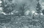 Советская пехота при поддержке танков Т-34 ведет бой за один из населенных пунктов на Львовском направлении