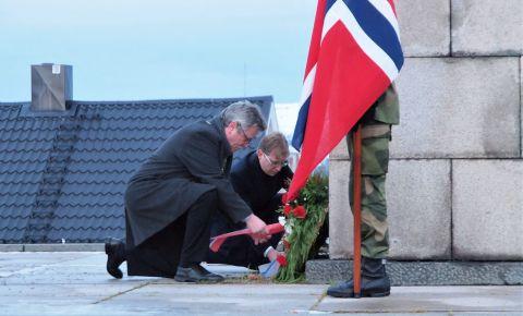 В Норвегии прошла мемориальная церемония, посвящённая 76-летию освобождения от нацистских оккупантов