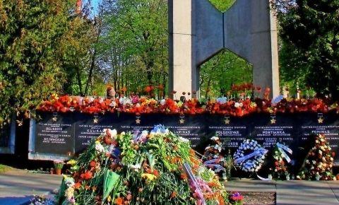 В Вильнюсе прошли мероприятия по случаю 75-ой годовщины окончания Второй мировой войны