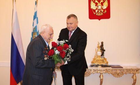 В Мюнхене состоялось награждение «Орденом Александра Невского» ветерана Великой Отечественной войны Давида Душмана