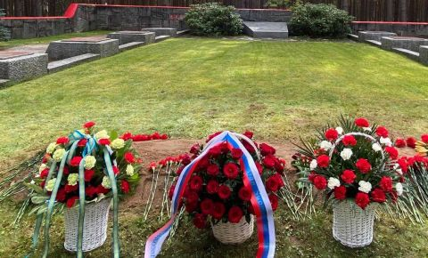 В Финляндии прошла церемония перезахоронения останков бойцов Красной Армии