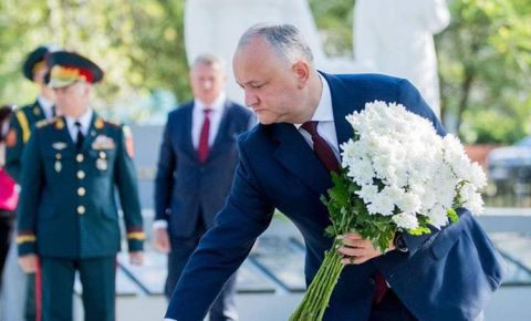 В Молдавии открыт восстановленный памятник советским воинам-освободителям
